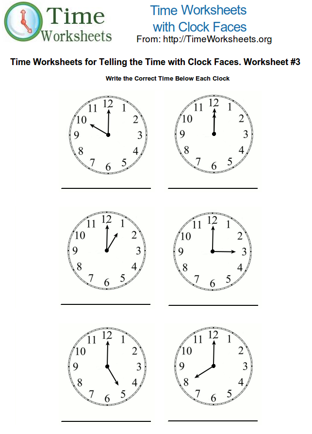 math worksheet : time math worksheets with clock faces 3  time worksheets org : Math Worksheets On Time