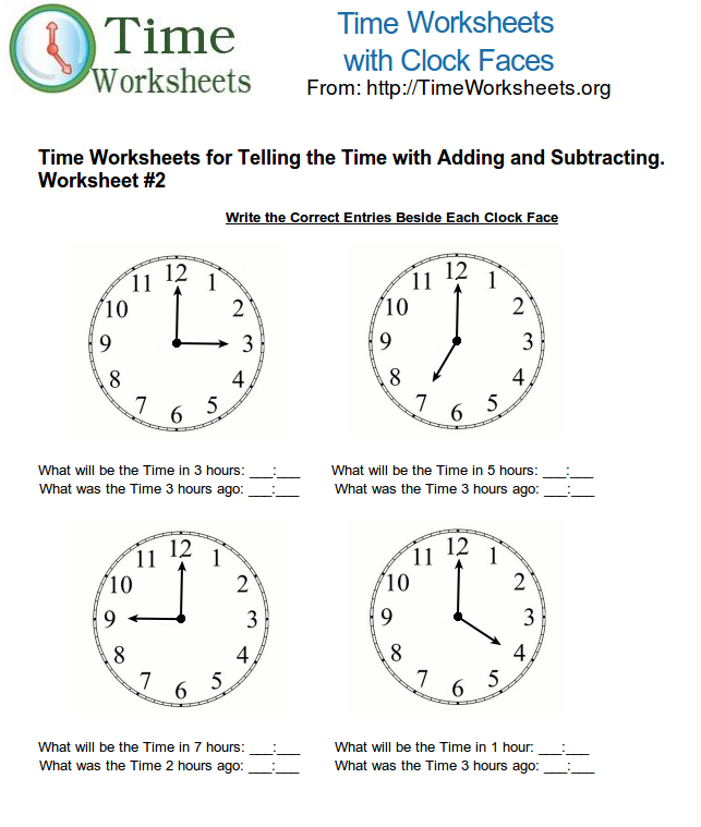 math worksheet : time math worksheets for telling time with subtracting and adding  : Puzzle Time Math Worksheets